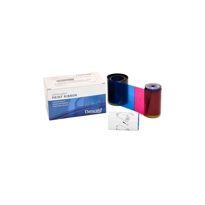 Ruban impression couleur YMCKO Datacard 534000-003 pour SD260 et SD360