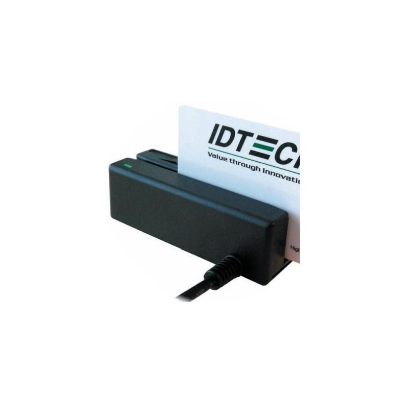 IDMB-332133B - Lecteur de pistes magnétiques, 3 pistes, RS232