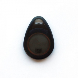 Porte Clé RFID 125Khz Puce EM4200 Noir  - Cardalis