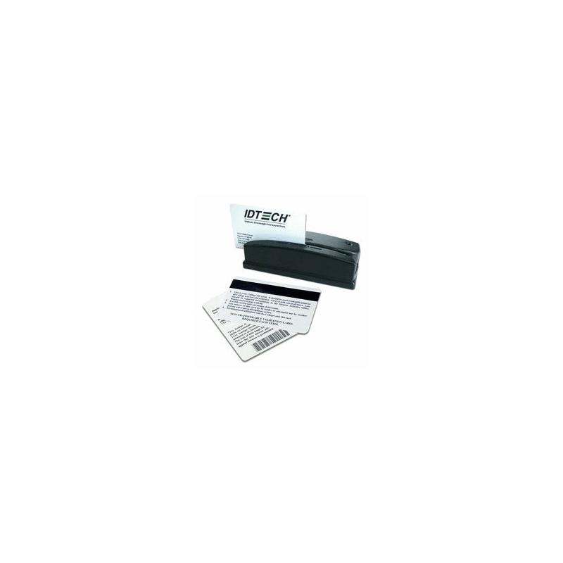 WCR3227-533U - Lecteur OMNI 3 pistes, connectique USB et RS232