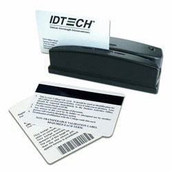 OMNI USB clavier, Piste 1,2 et 3 + lecture code barres (visible), IDTECH