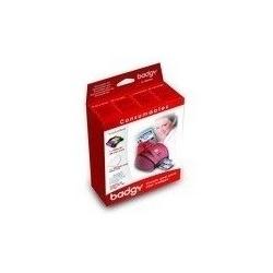 VBDG205EU - Pack ruban couleur + 100 cartes pour Evolis Badgy 1