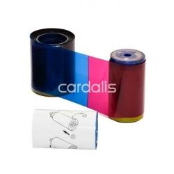 Ruban YMCKT-K Datacard CD/CP 375 cartes 535000-007