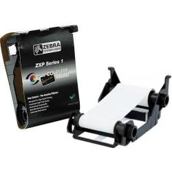 800011-109 - Ruban Blanc Zebra pour ZXP1, 1000 faces