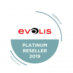 ZN1H00HSRS - Imprimante badges Evolis Zenius Expert Contactless