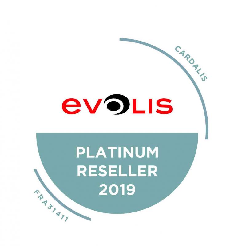 ZN1HB000RS - Imprimante à badges Evolis Zenius, encodeur magnétique