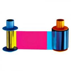 045200 - Ruban couleur YMCKO pour imprimante badges Fargo DTC4500