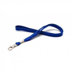 CUMF10-2 - Cordon tour de cou bleu roi mousqueton fermoir – Cardalis