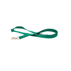 Cordon tour de cou Premium Vert avec mousqueton  - Cardalis