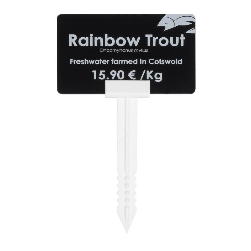 AC000004 - Support pique large pour étiquettes de prix - CARDALIS