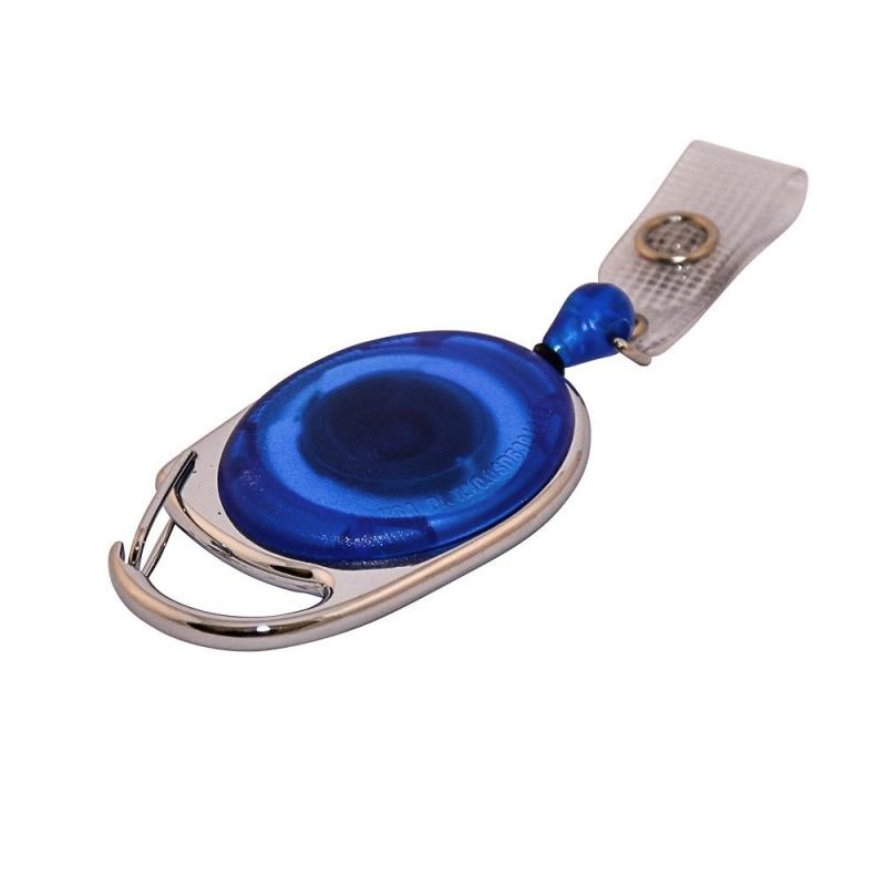 ATTY09-CS2 - Enrouleur bleu prestige avec lanière, extension 79 cm