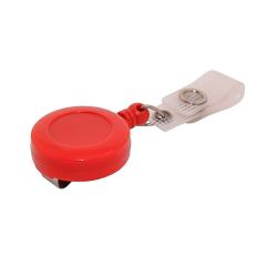 ATTY02-CS6 - Enrouleur rouge avec lanière, extension 72 cm - Cardalis
