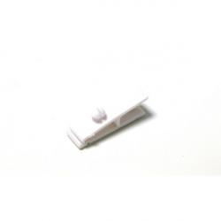 ATT001-8 - Clip plastique blanc pour badges - Cardalis