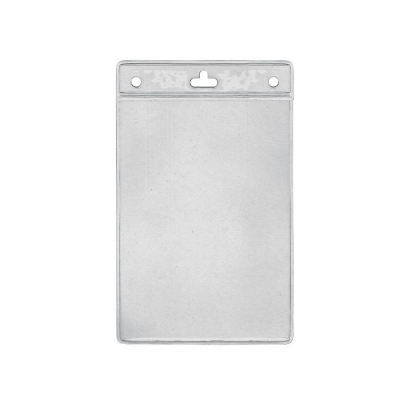 Porte badge souple transparent pour vos documents A6 - Cardalis