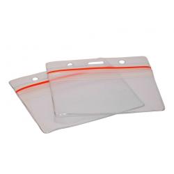 Porte badge souple hermétique transparent  horizontal - Cardalis