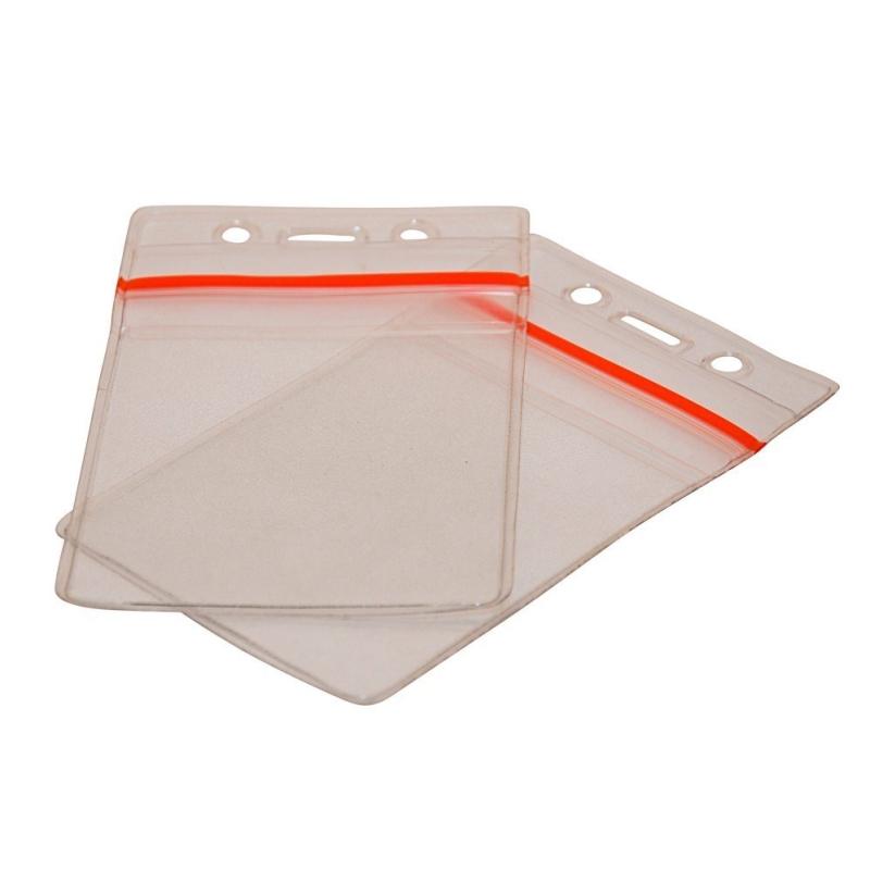Porte badge souple hermétique transparent  vertical - Cardalis