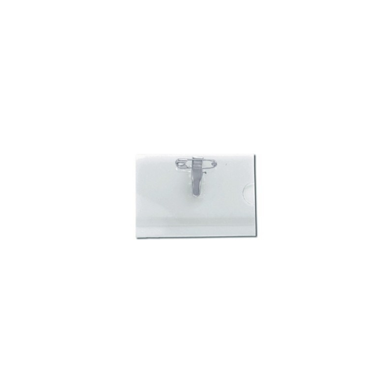 PBS003-CF - Porte badge conférence attache pince et épingle
