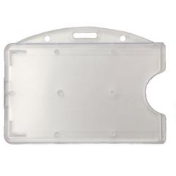 PBR2002-H0 - Porte-badge rigide, format horizontal - Cardalis