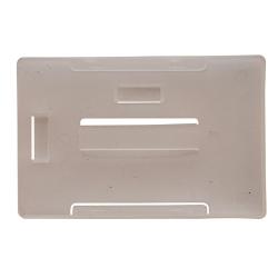 PBR1004-HV0 - Porte-badge rigide format horizontal et vertical
