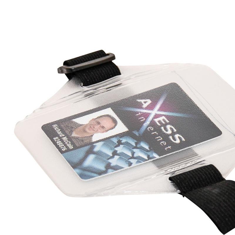 PBS016-BRV100 - Porte badge brassard avec sangle - Cardalis