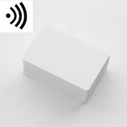 RC1250001 - Cartes RFID 125Khz blanche puce EM4200 - Cardalis