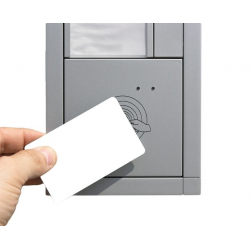 Cartes RFID sans contact 125Khz blanche, puce TK4100 - Cardalis