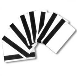 500 cartes plastique avec piste magnétique basse coercivité