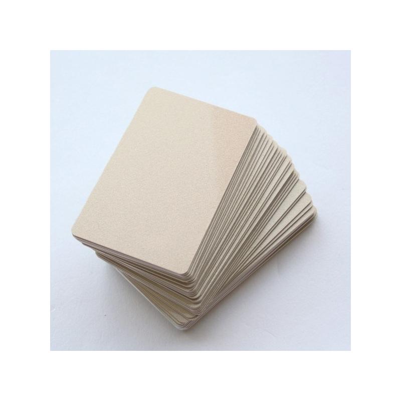 17BOR076-2-100 - Cartes PVC or pour imprimantes à badges - Cardalis