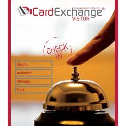 VM2030 - Logiciel CardExchange Visitor - Version standard