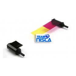 7710004NRB02 - Ruban Nisca PR5350, PR5360LE & PR-C151 YMCKO3 (3BP)