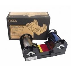 7710004NRB10 - Ruban couleur YMCKO imprimante Nisca PR-C101