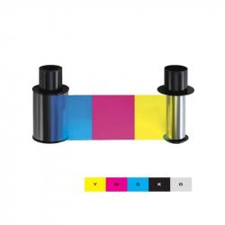 045610 Ruban couleur pour imprimante Fargo DTC1500, 500 faces