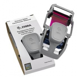 800300-350EM - Ruban couleur YMCKO imprimantes Zebra ZC100/300