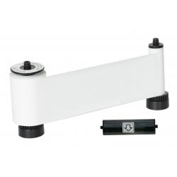 659370 - Ruban monochrome blanc pour imprimante à badges Smart51
