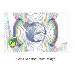 LVR037NAA - Film hologramme générique, laminateur Evolis Primacy
