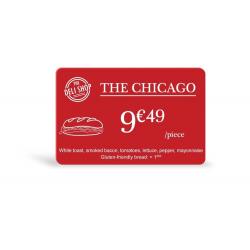 C4301 - Edikio cartes Rouges, 86x54mm, ép. 0,76mm, lot de 100