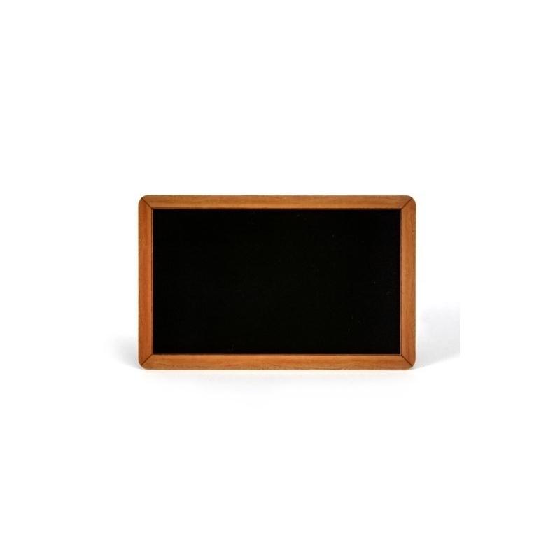 Cartes PVC Evolis noir brillant design ardoise, format 86x54mm, épaisseur 0,76mm, lot de 100