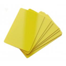 CTM-076-9 - Cartes PVC jaune pour imprimantes à badges - Cardalis