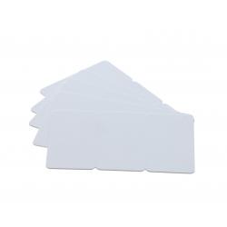 Cartes PVC sécables en 3, format 28,6x56mm, ép 0,76mm