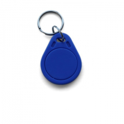 Porte Clé RFID Mifare® Classic 1K bleu avec anneau - cardalis