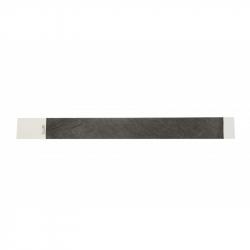 BRTYVEK19-1 Lot de 100 bracelets papier indéchirable tyvek Noir