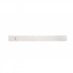 BRTYVEK19-8 Lot de 100 bracelets papier indéchirable Tyvek Blanc
