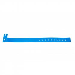 BRVINYLE-2 Lot 100 bracelets Vinyle type L, finition Mat - Bleu