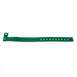 BRVINYLE-4 Lot 100 bracelets Vinyle type L, finition Mat - Vert
