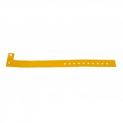 BRVINYLE-9 Lot 100 bracelets Vinyle type L, finition Mat - Jaune