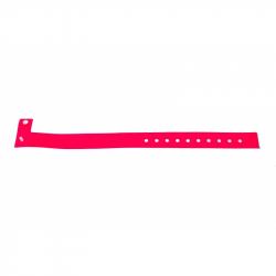 BRVINYLE-11 Lot 100 bracelets Vinyle type L, finition Mat - Rose