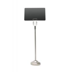 AC000015 - Support tige métal pour étiquette de prix, 18 cm – Cardalis