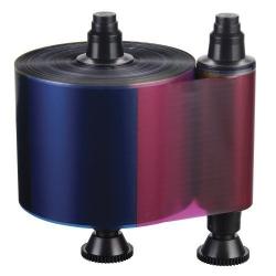 R3511 - Ruban YMCKO couleur, 500 faces pour Evolis Quantum
