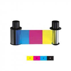 084911 - Film couleur YMCK pour imprimantes Fargo HDP6600 - 750 faces
