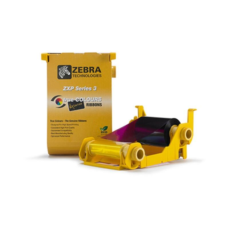 800033-848 - Ruban impression YMCKOK pour imprimantes Zebra ZXP3